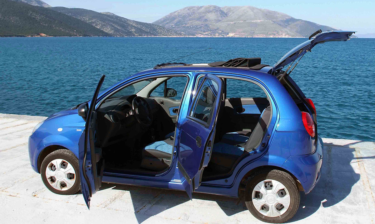 chevrolet matiz open top
